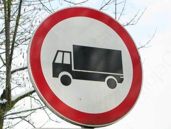 Prepoved tovornega prometa skozi Podlipo
