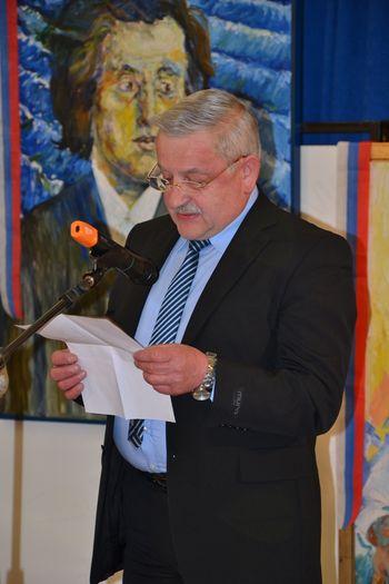 V čast slikarja in počastitev pesnika