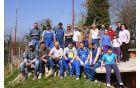Udeleženci delovne akcije Radiokluba Cirkulane