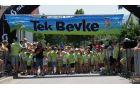 Otroci tik pred startom 13. teka Bevke 2015