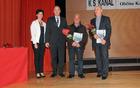 Prejemnika priznanja Boris Jakončič in Slavko Brezavšček. Foto: Borut Jurca