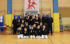 Najuspešnejši na tekmovanju - mladi tekmovalci v ju-jitsu DBV IPPON Sevnica