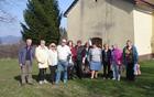 Pred cerkvijo SV Miklavža