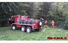 Sodelovali smo z vozilom za gozdne požare. Foto: Danijel Markič