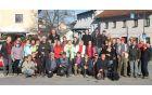 Pohodniki na 2.Martinovem pohodu v Žužemberku Foto: Facebook TD Suha krajina