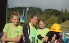 Svojevrstno doživetje je bilo prevoz z gondolo na štart tekmovanja [foto: Mateja Zdešar].