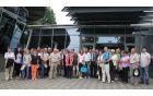 Slovensko-avstrijska ekskurzijska skupina pred deželnim arhivom v Celovcu (Kärntner Landesarhiv)