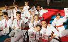 Sevniška ekipa mladih karateistov