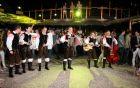 Zasedba ansambla Nemir na festivalu Vurberk.
