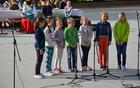 Učenci OŠ Tržišče (foto: Nevenka Flajs)