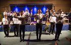 Prifarski muzikanti so tudi zaplesali (foto: Nevenka Flajs).