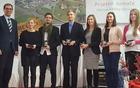 Župan je nagradil pomembne občane, Janop Zupančič, Klemena Janežiča ...