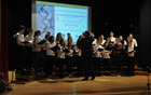 Pevski zbor na letošnji medobčinski reviji