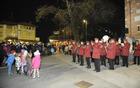 Uvod v prižig lučk na šempetrskem placu je pripadel Goriškemu pihalnemu orkestru. (Foto: Foto atelje Pavšič Zavadlav)