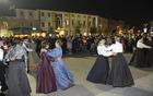 Pred množico zbranih je zaplesala Folklorna skupina Na placi. (Foto: Foto atelje Pavšič Zavadlav)
