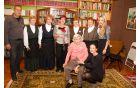 Miran Urih, Vesele polanke, dr. Jožica Gamse, Mara Urih in vnukinji Saša in Tina Urih.