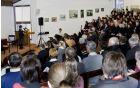 Odprtje slikarske razstave Mihaele Černic-sestre Adelgundis