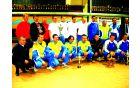 Ekipa OBZ Notranjske na podelitvi priznanj v družbi svetovnih asov v balinarskem športu