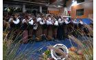 Folklorna skupina Grof Blagaj je s Plesom na veliki ponedeljek popestrila koncert.