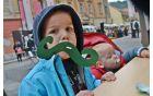 Sladke Cankarjeve brke so si otroci lahko izdelali sami.