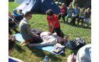 V taboru - tečaj prve pomoči