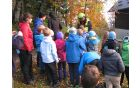 Pozorno so gledali in prisluhnili prikazu dela GRS reševalcev