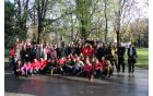 Z gostitelji pri Bezenškovem spomeniki v Plovdivu