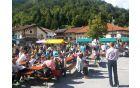 Bogata sejemska ponudba je na Kobariški trg privabila številne obiskovalce
