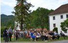 Prijeten ambient grajskega parka, kjer so se zbrali odličnjaki in njihovi starši, je dogodek naredil še bolj posebnega.