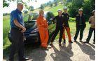 Obisk župana občine Dobrna g. Martina Brecla na delovišču.