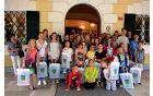 Po sprejemu ostalih uspešnih mladih iz občine Šempeter-Vrtojba, ki se nadpovprečno udejstvujejo na področju kulture in umetnosti ter športa ali drugih področjih.