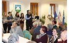 Zbrane je pozdravil župan Občine Kobarid Robert Kavčič. Foto: Nataša Hvala Ivančič