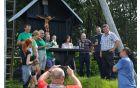 predstavniki občin in župani so nazdravili snidenju na tromeji