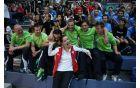 Slika 2: Slovenska reprezentanca na WCS v Avstriji, skupaj z predstavnico Švice