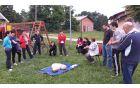 Gasilcem Jablan smo namestili defibrilator in jih naučili uporabe – oživljanja.