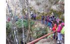 Spust v jamo Dimnice