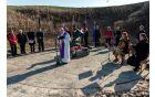 Molitveni obred za žrtve je vodil župnik Šilar.