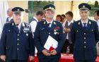 Častni poveljnik PGD Borovnica Viljem Mevec je prejel odlikovanje za posebne zasluge.