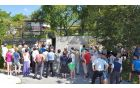 "Otvoritev korita ""Na klancu"" v vasi Sedlo. Foto: Nataša Hvala Ivančič"