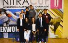 Ekipa TKD kluba Škorpijon - Nitra cup 2017