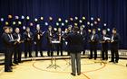 Moški pevski zbor Anton Klančič pod vodstvom Mateja Petejana