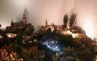 obhod po vasi ponuja ogled številnih božičnih jaslic