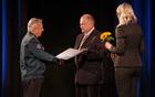 Zahvalo župana je v imenu OZVVS prejel predsednik Metod Ciril Leban.