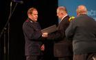 Denarna nagrada je šla tudi v roke PGD Breginj. Prevzel jo je predsednik društva Igor Bric.
