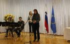 Ministrica za obrambo Andreja Katič je v svojem nagovoru spomnila na naravne značilnosti slovenske pokrajine ter njeno razgibanost, kar pa žal vpliva tudi na pogostost in vrsto naravnih ter drugih nesreč. Foto: Nataša Hvala Ivančič