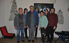 Udeleženci študijskega krožka PRC Tolmin - Hišna imena Ladra.