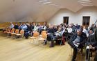 V sredo, 21. decembra 2016, se je v Bovcu odvijala skupna seja treh občinskih svetov posoških občin - Občine Kobarid, Bovec in Tolmin. Foto: Nataša Hvala Ivančič