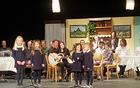 Kulturni program novoletnega srečanja so sooblikovali člani bovških in beneških kulturnih društev ter mladi glasbeniki. Foto: Nataša Hvala Ivančič