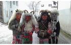 """V vaseh pod Krnom je zimo že preganjal """"ta mal pust"""". Foto: Jernej Bric"""
