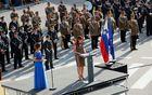 Udeležence je nagovorila tudi ministrica za obrambo in predsednica Nacionalnega odbora za obeleževanje 100-letnic 1. svetovne vojne Andreja Katič. Foto: Miha Uršič